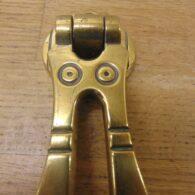 Brass Arts & Crafts Door Knocker - D717-0921 Antique Door Knocker Company