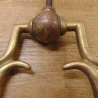 Brass Arts & Crafts Door Knocker - D722-0921 Antique Door Knocker Company