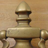 Brass Urn Door Knocker - D723-0921 Antique Door Knocker Company